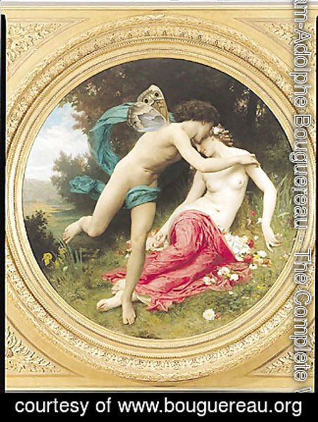 William-Adolphe Bouguereau - Flora and Zephyr 1875