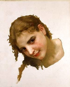 William-Adolphe Bouguereau - Jeune fille de La Rochelle 1895