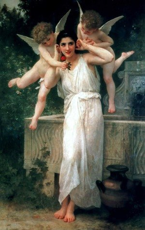 William-Adolphe Bouguereau - Youth