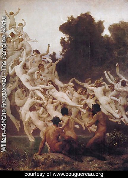 William-Adolphe Bouguereau - The Oreads, 1902