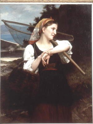 William-Adolphe Bouguereau - Daughter of Fisherman 1872