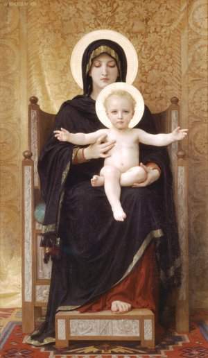Virgin and Child, 1888