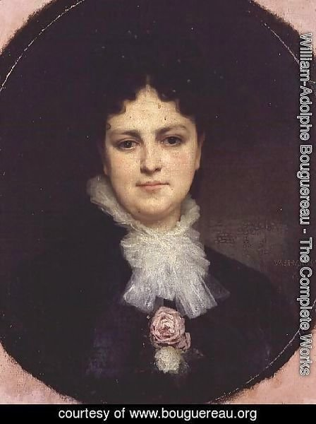 William-Adolphe Bouguereau - Portrait of Miss Addison Head of San Francisco