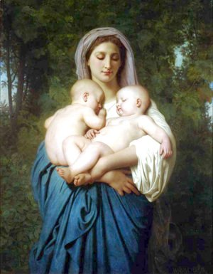 William-Adolphe Bouguereau - La Charité (Charity)