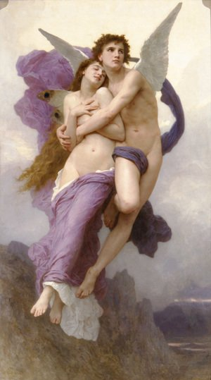 William-Adolphe Bouguereau - Le Ravissement de Psyche (The Rapture of Psyche)