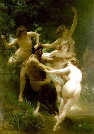 Nymphes et Satyre (Nymphs and Satyr)