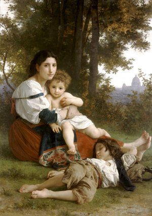 William-Adolphe Bouguereau - Le Repos (Rest)