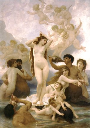 William-Adolphe Bouguereau - Naissance de Venus (Birth of Venus)