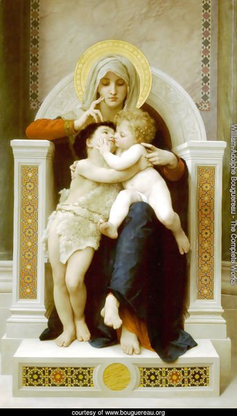 La Vierge, L'Enfant Jesus et Saint Jean Baptiste (The Virgin, the Baby Jesus and Saint John the Baptist)