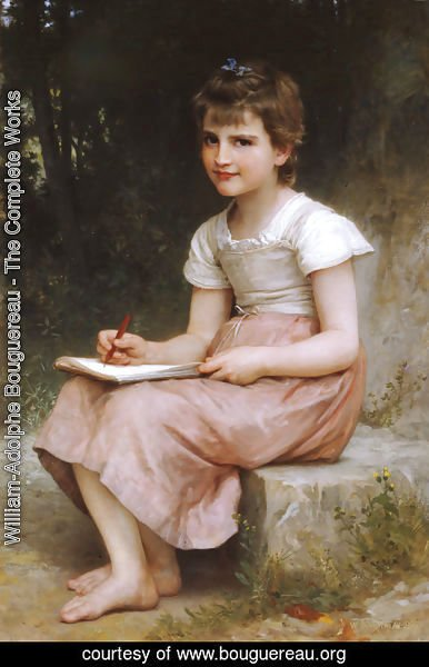 William-Adolphe Bouguereau - Une vocation (A calling)