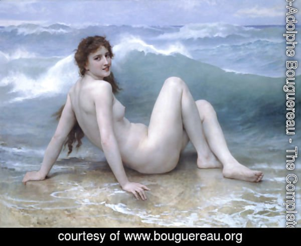 William-Adolphe Bouguereau - La Vague (The Wave)