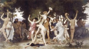 William-Adolphe Bouguereau - La Jeunesse de Bacchus (The Youth of Bacchus)