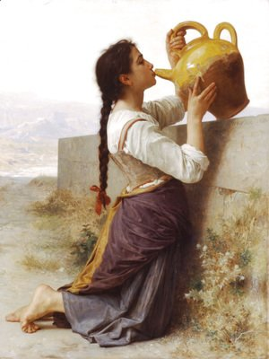William-Adolphe Bouguereau - La Soif (Thirst)