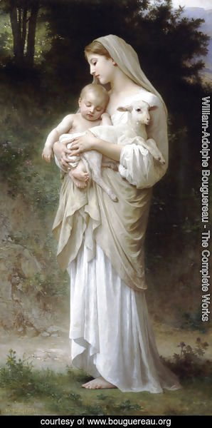 William-Adolphe Bouguereau - L'innocence (Innocence)