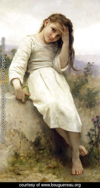 William-Adolphe Bouguereau - Petite Maraudeuse (Little Thief)