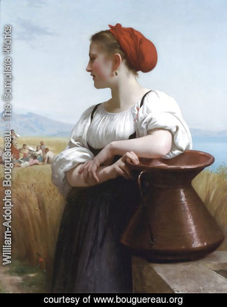 William-Adolphe Bouguereau - Moissonneuse (The Harvester)