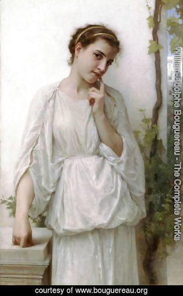 William-Adolphe Bouguereau - Reverie (Revery)