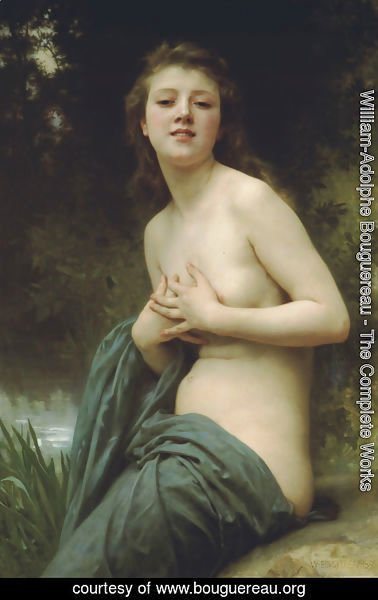 William-Adolphe Bouguereau - La Brise du Printemps (Spring Breeze)