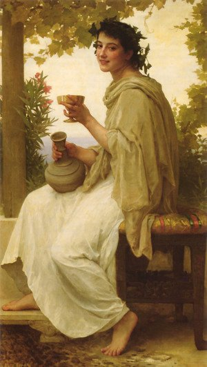 William-Adolphe Bouguereau - Bacchante