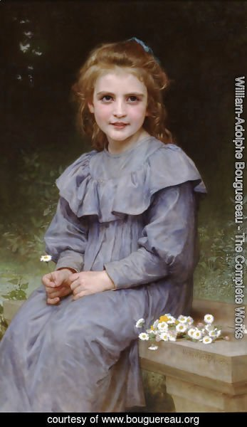 William-Adolphe Bouguereau - Paquerettes (Daisies)