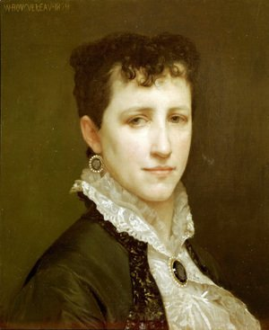 William-Adolphe Bouguereau - Portrait de Mademoiselle Elizabeth Gardner (Portrait of Miss Elizabeth Gardner)