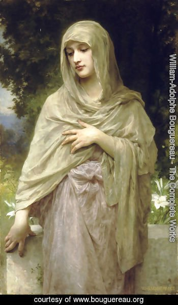 William-Adolphe Bouguereau - Modestie (Modesty)