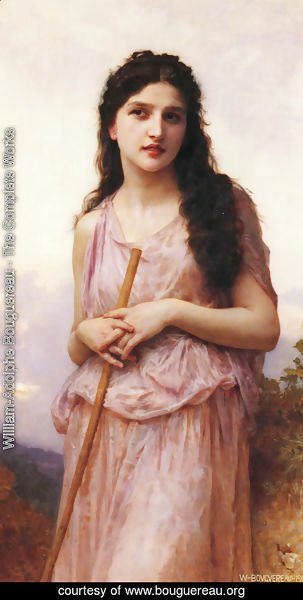 William-Adolphe Bouguereau - L'attente (Waiting)