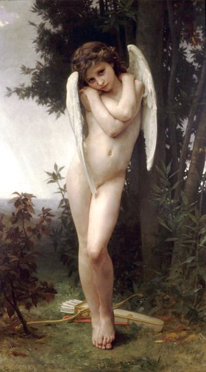 William-Adolphe Bouguereau - L'Amour Mouille (Wet Cupid)