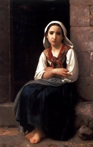 William-Adolphe Bouguereau - Yvonette
