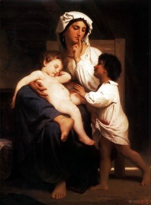 William-Adolphe Bouguereau - Le sommeil (Asleep at last)