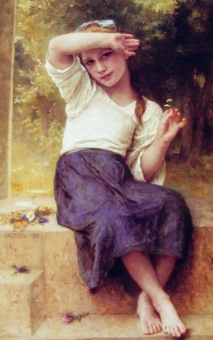 William-Adolphe Bouguereau - Marguerite