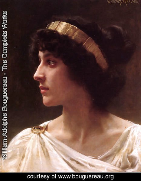 William-Adolphe Bouguereau - Irène