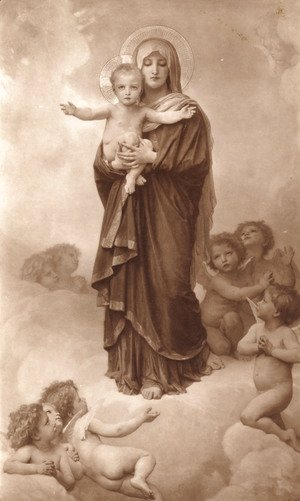 William-Adolphe Bouguereau - Notre-Dame des Anges (Our Lady of the Angels)