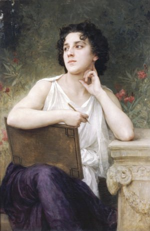 William-Adolphe Bouguereau - Inspiration