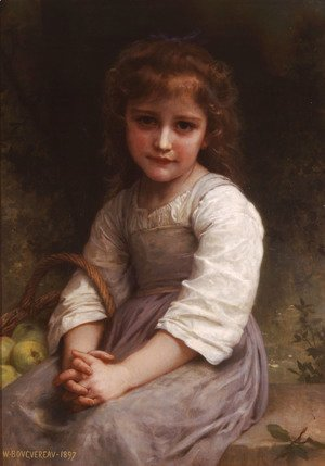 William-Adolphe Bouguereau - Les pommes (Apples)
