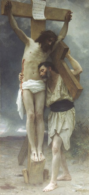William-Adolphe Bouguereau - Compassion!