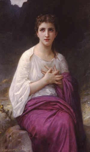 William-Adolphe Bouguereau - Psyché (Psyche)