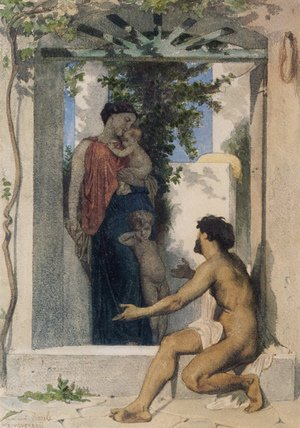 William-Adolphe Bouguereau - La Charité Romaine (Roman Charity)