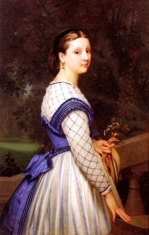 William-Adolphe Bouguereau - La Comtesse de Montholon (The Countess de Montholon)