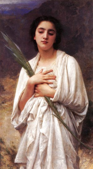 William-Adolphe Bouguereau - La palme (The Palm Leaf)