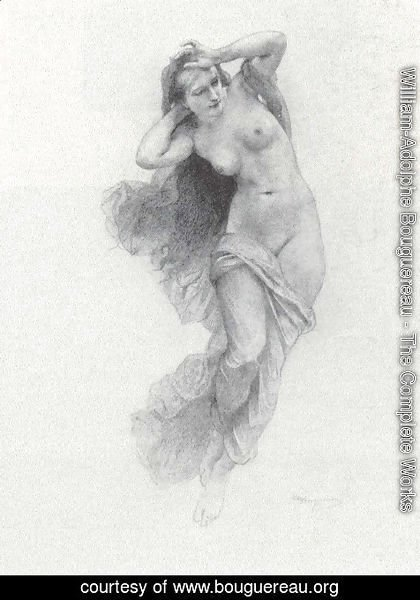 William-Adolphe Bouguereau - Sketch for Night