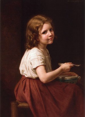 William-Adolphe Bouguereau - La soupe (Soup)