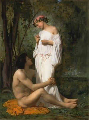 William-Adolphe Bouguereau - Idylle