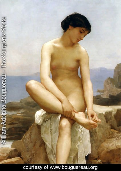 William-Adolphe Bouguereau - The Bather