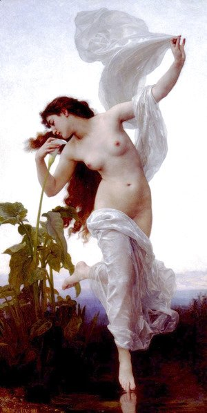 William-Adolphe Bouguereau - L'aurore