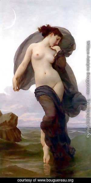 William-Adolphe Bouguereau - La Crepuscule