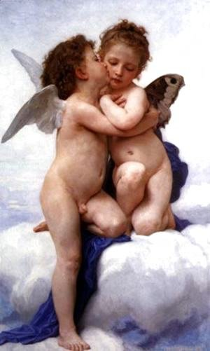 William-Adolphe Bouguereau - The First Kiss