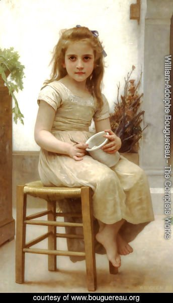 William-Adolphe Bouguereau - The Snack