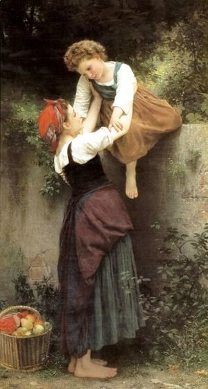 William-Adolphe Bouguereau - The Little Marauders