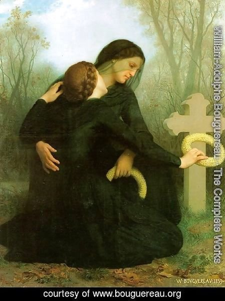 William-Adolphe Bouguereau - Le Jour des Morts